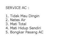 Service AC Sidoarjo Panggilan